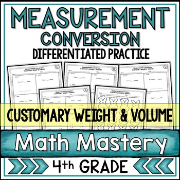 Converting Measurements - Weight & Volume