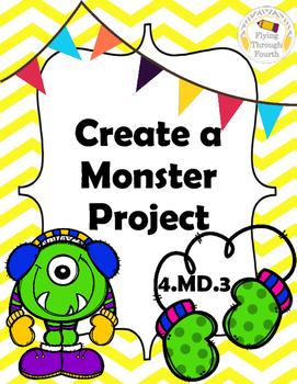 Measurement - Create a Monster Project - Area & Perimeter 4.MD.3