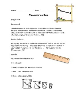 Measurement Fair Design Challenge