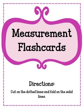 Measurement Flashcards.  Capacity Time Ounces Pounds Weigh