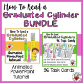 Measurement Graduated Cylinders BUNDLE - Animated PPT Tuto