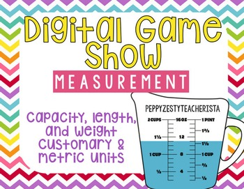 Measurement: Capacity, Length, Weight, Customary AND Metri