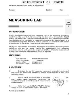 Measurement Lab