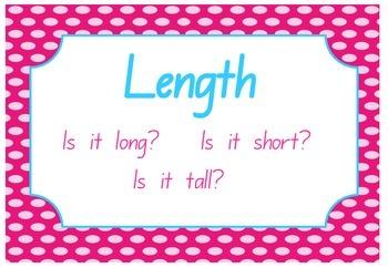 Measurement - Length Wall Chart