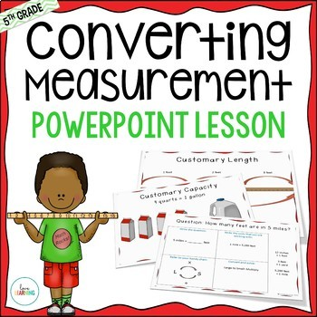 Measurement Lesson (5th Grade Common Core Aligned)