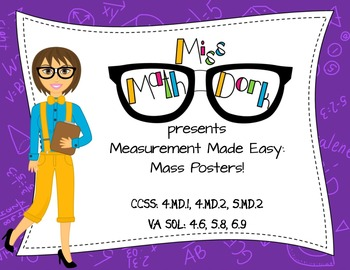 Mass/Weight: Measurement Made Easy!