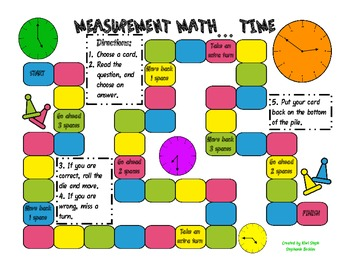 Measurement Math - Time