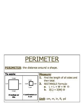 Measurement: Perimeter Foldable