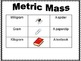Measurement Posters, Quiz, and Study Guide:  Real Life Benchmarks