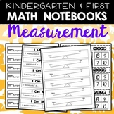Math Journals: Measurement Printables for K-1