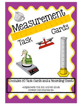 Measurement Review: Task Cards
