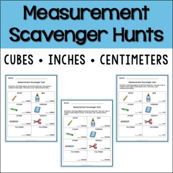 Measurement Scavenger Hunts