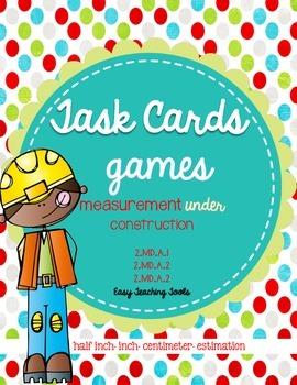 Measurement Task Cards: 3 games used 5 ways!!!