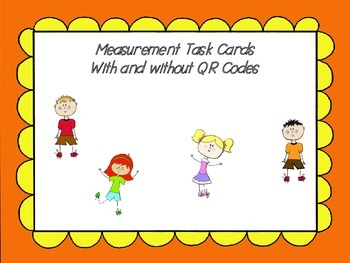 Measurement Task Cards 5  (QR codes)
