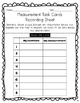 Measurement Task Cards (Inches + Centimeters) + Create You