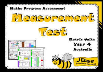 Measurement Test (Metric Units): Maths Progress Assessment