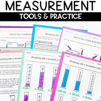 Metric Measurement Worksheets grams, liters and meters
