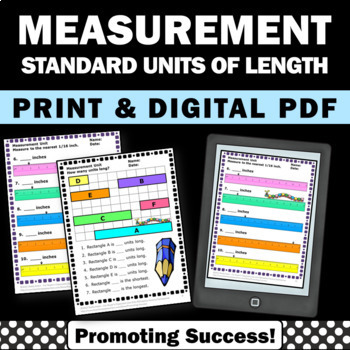 Measurement Worksheets 2nd 3rd Grade Math Homework Review