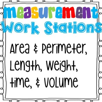 Measurement Work Stations