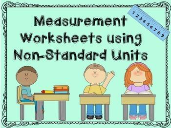 Measurement Worksheets using Non-Standard Units