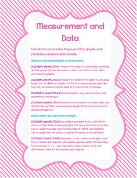 Measurement and Data -- Second Grade-- Common Core