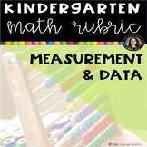 Kindergarten Math Rubric - Measurement and Data