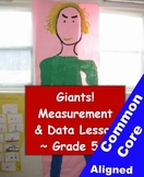 Measurement and Estimating Math Giant Project - 5th Grade