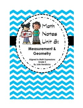 Measurement and Geometry (Aligned to Math Expressions: Grade 5)