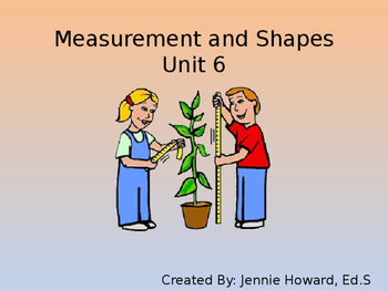 Measurement and Shapes (Unit 6)