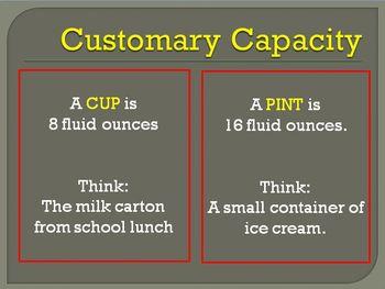 Measurement: fluid capacity