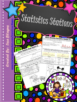 Measures of Central Tendency, Sampling, & Graphing Stations