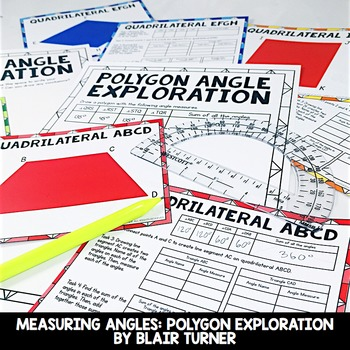 Measuring Angles: 4th Grade Math Centers 4.MD.6
