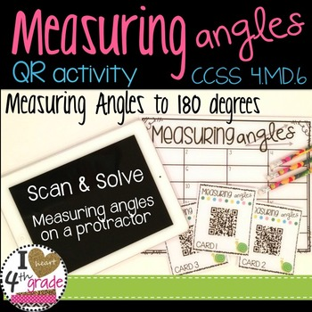 Measuring Angles QR Activity