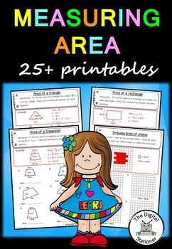 Measuring Area – 25+ worksheets