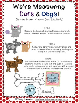 Measuring Cats and Dogs (In Order to Meet Common Core Standards)