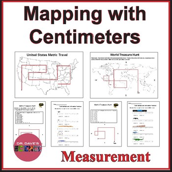 Measuring Centimeters Activity Worksheets