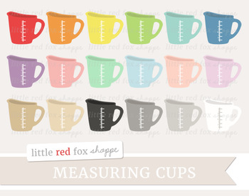 Measuring Cup Clipart
