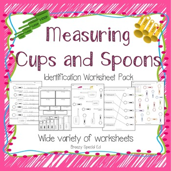 Measuring Cups Madness | Cups, Articles and Worksheets