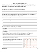 Measuring Earth Notes Packet