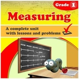 Measuring - Grade 1 - complete unit