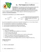 Measuring Heart Rate in Daphnia, Student Designed, Q10 Worksheet
