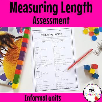 Measuring Length Assessment {Informal Units}