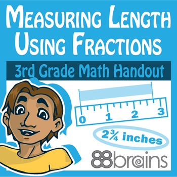 Measuring Length Using Fractions/Line Plots pgs. 51-54 (CCSS)