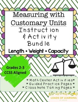 Measuring Length, Weight, and Capacity - U.S. Units of Mea