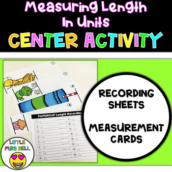 Measuring Length in Units Center
