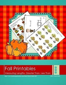 Fall/Thanksgiving Printable