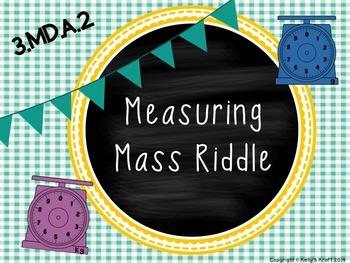 Measuring Mass Riddle