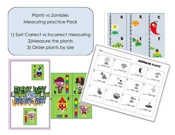 Measuring Plants vs Zombies Pack