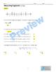 Measuring Segments- Bundle Homework, Quiz, Graphic Organiz