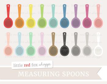 Measuring Spoon Clipart